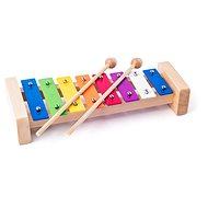 Woody kovový xylofón - Hudobná hračka