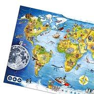 Čarovné čítanie – Puzzle svet - Kniha pre deti
