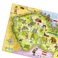 Magic Reading - Puzzle Česká republika - Vzdelávacia hra