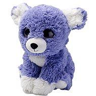 Hrejivé šteniatko fialové - Plyšová hračka