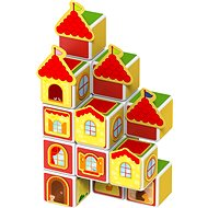 Magicube – Hrady a domy - Magnetická stavebnica