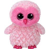 Beanie Boos Twiggy – Sova ružová - Plyšová hračka