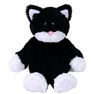 Attic Treasures Bessie – Mačka čierno-biela - Plyšová hračka