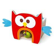 Drevená hračka Scratch Zatĺkacia hračka Sovička - Dřevěná hračka