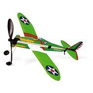 Scratch Vrtuľové stíhacie lietadlo na gumu - Lietadlo
