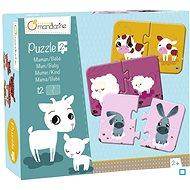 Puzzle Avenue Mandarine Duo puzzle Maminka a mládě - Puzzle