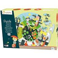 Avenue Mandarine Velké puzzle Roční období - Puzzle
