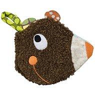 Ebulobo Látková knižka Medvedík - Textilná hračka