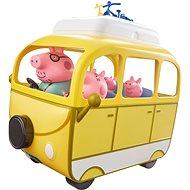 Peppa Pig – Karavan s príslušenstvom + 4 figúrky - Herný set