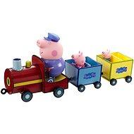 Peppa Pig – Vláčik + 3 figúrky - Herný set