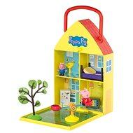 Peppa Pig – Domček so záhradkou + figúrka a príslušenstvo - Herná sada