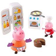 Peppa Pig - Kuchyňská sada + 2 figurky - Herná súprava