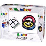 Rubikova kocka 2 × 2 + hlavolam prstence - Hlavolam