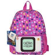 Pixie farebné bodky (svietia v tme) - Detský ruksak