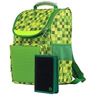 Pixie Aktovka a peračník súprava zelená/čierna - Školská súprava