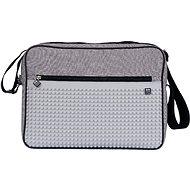 Pixie Messenger sivá/sivá - Taška cez rameno