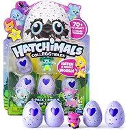 Hatchimals Zberateľské zvieratká, 4 + 1 - Figúrky