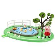 Prasiatko Peppa - Rybníček s figúrkou - Herná súprava