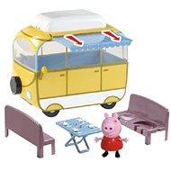 Peppa Pig – kempingový automobil Peppy + figúrka - Herná súprava