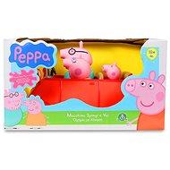 Peppa Pig – rodinné auto s figúrkami - Herná súprava