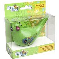 Spievajúci vodný vtáčik Aqua Bird III zelený
