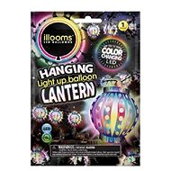 LED balóny - meniaci farbu lampión - Herný set