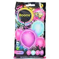 LED balóniky - dievčenské 4 ks - Herný set