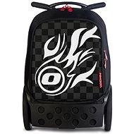 Nikidom Roller XL White Fire - Školský batoh