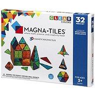 Magna-Tiles 32 priehľadná