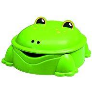 Žaba zelená s vekom - Pieskovisko