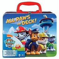 Tlapková patrola Puzzle v plechovom kufríku - Puzzle