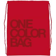 Studentská taška One Color red - Vrecko na prezúvky