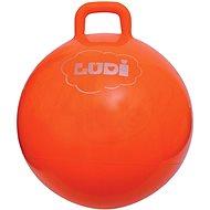 Ludi Skákajúca lopta 55 cm oranžová - Detské skákadlo