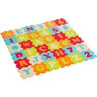 Ludi 90 × 90 cm Písmená a čísla - Penové puzzle
