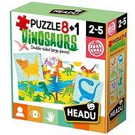 Puzzle 8 + 1 Dinosaury