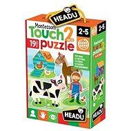 Montessori – Hmatové puzzle – Farma