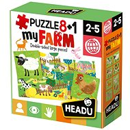 Puzzle 8 + 1 Moja farma