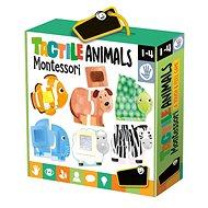 Montessori – Dotykové puzzle – Zvieratká