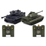 Jamara Panzer Tiger Battle Set 1:28 2,4 GHz - RC auto na diaľkové ovládanie