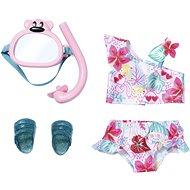 BABY born Súprava plavky a šnorchel - Doplnok pre bábiky