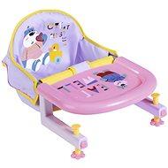 BABY born Jedálenská stolička s upevnením na stôl - Doplnok pre bábiky