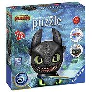 3D puzzle Ravensburger 3D 111459 Puzzle-Ball Ako vycvičiť draka 3: Bezzubka - 3D puzzle