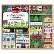 Melissa & Doug - Drevené mesto - Drevená hračka