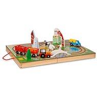 Melissa & Doug – Farma na cesty - Drevená hračka
