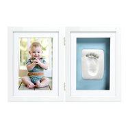 Pearhead Dvojitý rámček na odtlačok, stolový, biely - Fotorámik