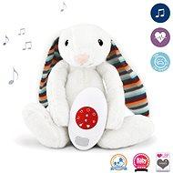 Zazu – Zajačik BIBI – Šumiace zvieratko s tlkotom srdca a melódiami - Hračka pre najmenších