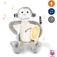 ZAZU – Opička MAX – plyšové nočné svetlo s melódiami - Hračka pre najmenších