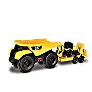 Nikko CAT Sklápačka, ťahač + Nakladač 32 cm - Auto