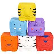 Simba Striekajúce kocky zvierat do vani - Herná súprava