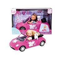 Simba Bábika Evička s autom New Beetle - Bábika